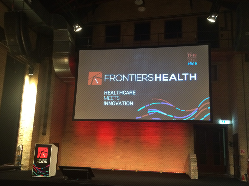 Thanks to all the innovators at Frontiers Health 2016