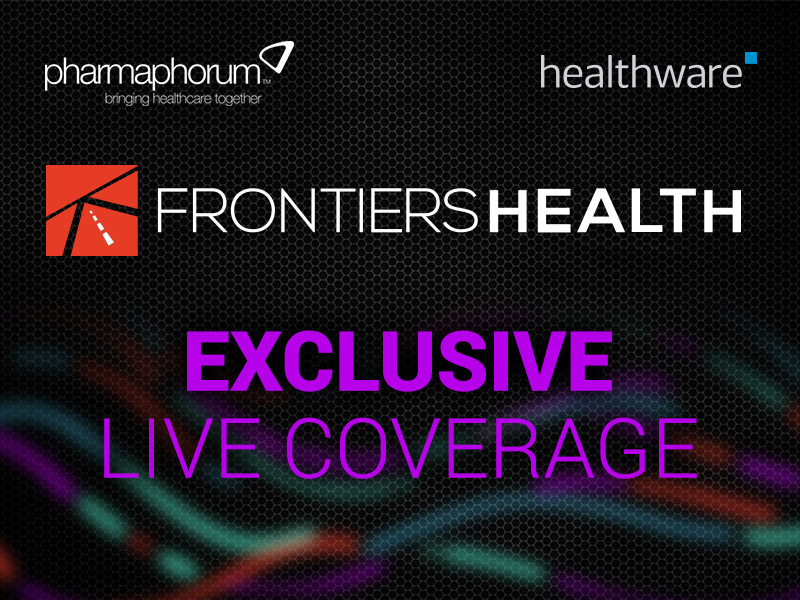 Exclusive live coverage of Frontiers Health 2016 by Pharmaphorum